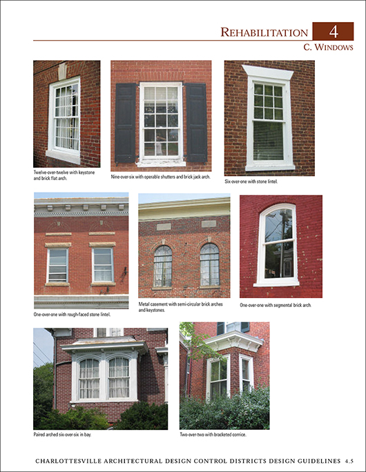 Charlottesville Historic District Guidelines Report